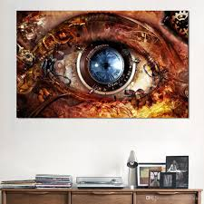 2018 oil painting abstract eyes home decor picture wall pictures for living room no frame canvas art from framedpainting 25 89 dhgate com