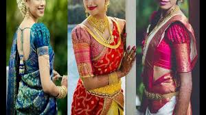 Saree Blouse Sleeve Designs 2018 Latest Puff Sleeve Blouse Designs For Silk Saree 2018 Puff Sleeve Blouse For Pattu Saree