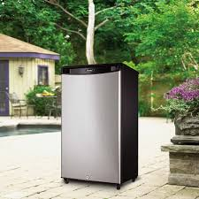 Refrigerator Outdoor Danby 33 Cuft Stainless Steel Outdoor Compact Refrigerator