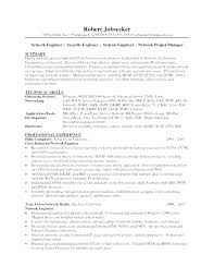 Security Engineer Resume Gorgeous Network Security Engineer Resume Example Examples And Samples Top