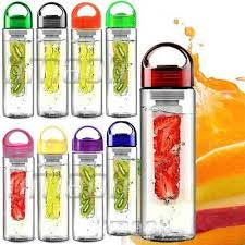 bpa free fruit infuser infusing infuser water bottle sports uk stock free p p