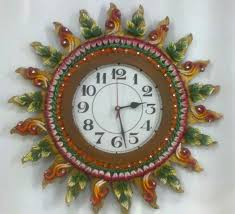 attrative handmade wall clock clocks on the