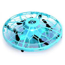 <b>Children</b> Gesture Control Induction <b>Four</b>-<b>axis</b> UFO Mini Drone ...