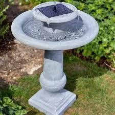 chapelwood sworth solar bird bath