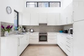 Kitchen tile flooring designs Ceramic Tile The Spruce 30 Gorgeous Grey And White Kitchens That Get Their Mix Right