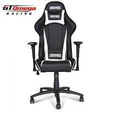 sidemen edition gt omega pro racing office chair black next white leather