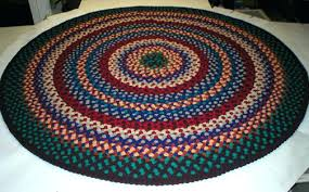 brown round braided rug traditional round braided rugs brown black charcoal rug 4 by earth brown brown round braided rug