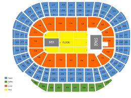 Rexall Place Seating Map For Concerts Rexall Place Seating