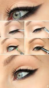 the technique for an evening cat eye makeup does not differ much from a daytime cat eye makeup but it can definitely benefit from the following tips for