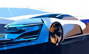 new electric car releasesHonda Releases Sketch of Concept Previewing 2015 FuelCell