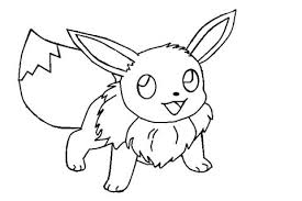 Pokemon Eevee Coloring Pages Coloring Pages Draw Easy 3 Pokemon