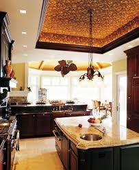 Classy Bronze Pendant Tray Lights Kitchen Ceiling Ideas Over Island As Well  As Espresso Kitchen Cabinet In European Kitchen Decorating Ideas