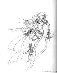 796x1004 maplestory mercedes sketch by lumisse on deviantart