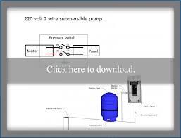 submersible well pump wiring diagrams lovetoknow 220 volt 2 wire pump