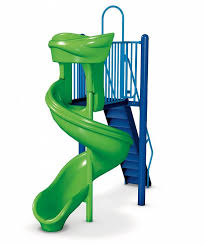 Swirly Slides Playground Equipment Gametime