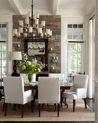 dining room no table. white sitting room with dark hardwood floors stone accent wall and chairs dining no table e