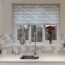 Dualdouble Roller Blinds Installed To Kitchen Window Using Double Best Blinds For Kitchen Windows