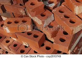 bricks with holes. Perfect Holes For Bricks With Holes Can Stock Photo