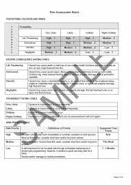 Sample Assessment Form Tree Work Risk Assessment Form Sample P3