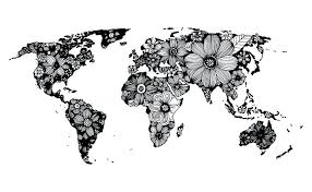 World Map Black And White Printable With Countries Printable World Map In Black And White Unique Labeled Outline