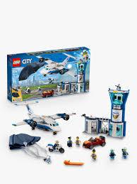 <b>LEGO City 60210</b> Sky <b>Police</b> Air Base at John Lewis & Partners