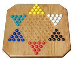 Old Fashioned Wooden Board Games