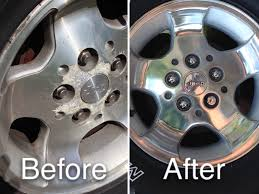 diy re of corroded aluminum alloy wheels