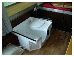 rv bathroom shower combo shower toilet combo photo 4 of 7 shower toilet sink combo camper