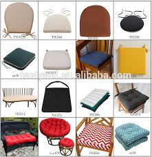 Dining Room Outdoor Weather Resistant Chair Seat Cushion U shaped