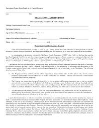 Release From Liability Form Template | Template Design Ideas