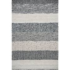 contemporary rugs emphasis taupe grey black white close image