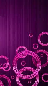 Wallpaper Background Lock Screen Geometric Purple Pink For