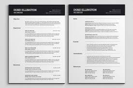 11 Lovely Pictures Of 2 Page Resume Format Creative Resume Templates