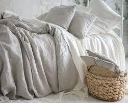 linen duvet natural pure washed linen duvet cover french bed linen duvet covers flax linen bedding linen duvet rough linen bedding