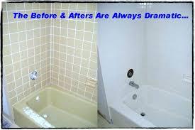 impressive bathtub resurfacing kit rust specialty 1 qt white tub and tile refinishing tough