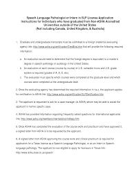 Speech Pathologist Sample Resume Ideas Of Sample Speech Language Pathology Resume Awesome Speech 11