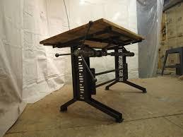 industrial office desk industrial drafting desk carruca desk office