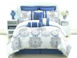 navy and white striped comforter unusual gallery gray blue set