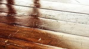 hardwood floor scratch fix