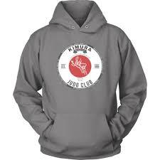 Port And Company Kimura Judo Club Size S 2xl Unisex Hoodie Jacket Adventure Grey Ebay