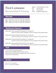 Resume Template In Word 2007 Orlandomoving Co