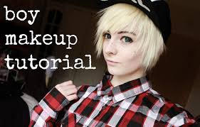 how i do my boy makeup simple and easy male anime cosplay tutorial