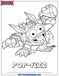 Small Picture Skylanders Giants Magic Series1 Pop Fizz Coloring Page H M