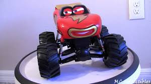 CARS TOON Frightening McMean Monster Truck toy - YouTube