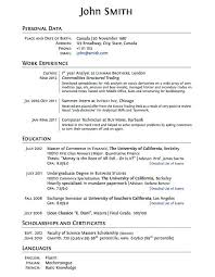 Resume Templates With No Work Experience High School Student Resume No  Experience Resume For High School Download