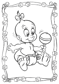 Small Picture New Baby Coloring Pages Free Coloring Pages