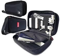 Amazon.com: Travel Cord Organizer - Electronics Accessories Case & Travel Electronics  Organizer (Black): Cell Phones & Accessories