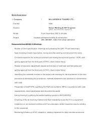Weld Inspector Cover Letter - Sarahepps.com -