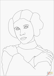 Prinsessen Kleurplaat Printen Model Ausmalbilder Star Wars Padme