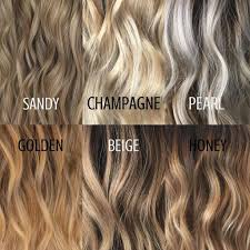 Different Hair Colors Highlights
